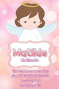Convite digital personalizado Batizado 037