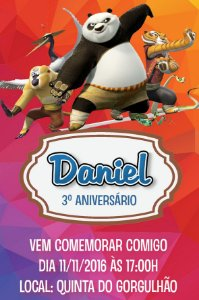 Convite digital personalizado Kung Fu Panda 013