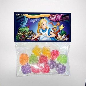 Solapa ou lapela personalizada Alice no país das maravilhas Disney