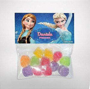 Solapa ou lapela personalizada Frozen - O Reino do Gelo