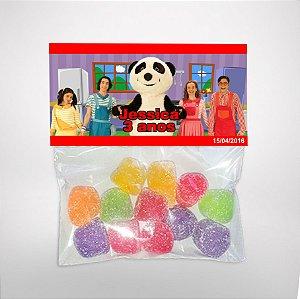Solapa ou lapela personalizada Panda e os Caricas