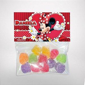 Solapa ou lapela personalizada Minnie Vermelha