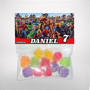 Solapa ou lapela personalizada Super Herois
