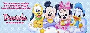 Convite personalizado para evento no facebook Baby Disney 003