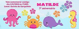 Convite personalizado para evento no facebook Fundo do Mar 002