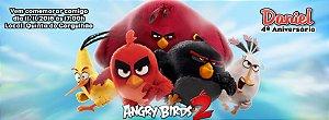 Convite personalizado para evento no facebook Angry Birds