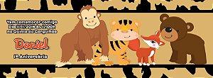 Convite personalizado para evento no facebook Baby Zoo