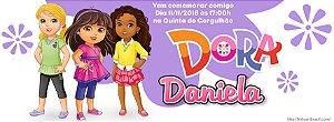 Convite personalizado para evento no facebook Dora e Seus Amigos na Cidade