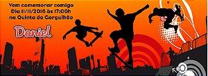 Convite personalizado para evento no facebook Esportes Radicais