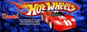Convite personalizado para evento no facebook Hot Wheels