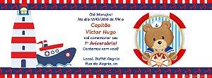 Convite personalizado para evento no facebook Nautico