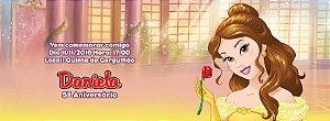 Convite personalizado para evento no facebook A Bela e a Fera 002