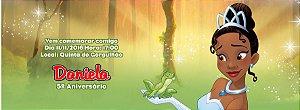 Convite personalizado para evento no facebook A Princesa e o Sapo 002