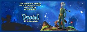 Convite personalizado para evento no facebook Pequeno Principe 002