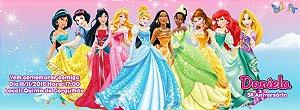 Convite personalizado para evento no facebook Princesas Disney 002