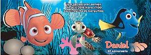 Convite personalizado para evento no facebook Procurando Nemo