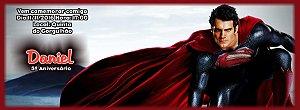 Convite personalizado para evento no facebook Super Homem