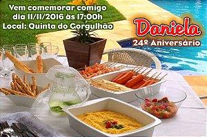Convite digital personalizado Churrasco 002