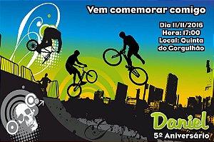 Convite digital personalizado Esportes Radicais 003