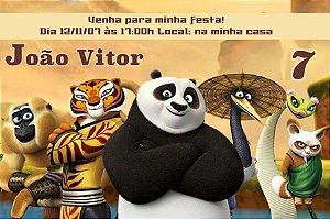 Convite digital personalizado Kung Fu Panda 014