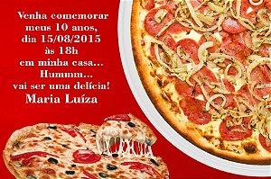 Convite digital personalizado Pizza 003