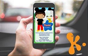 Convite personalizado para WhatsApp A Casa do Mickey Mouse 006