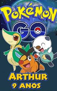 Adesivo de copo personalizado Pokémon GO