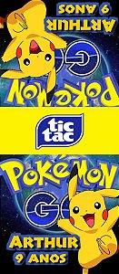 Adesivo personalizado para TicTac Pokémon GO