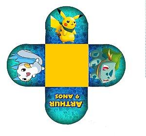 Forminha de doce personalizada Pokémon GO