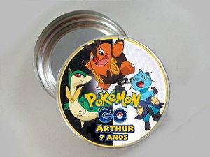 Latinha de aluminio personalizada Pokémon GO