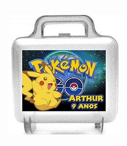 Maletinha acrílica personalizada Pokémon GO