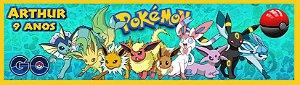 Adesivo personalizado para baldinho Pokémon GO