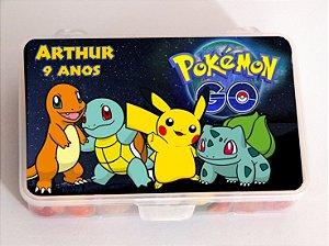 Caixa Organizadora de Doces Pokémon GO