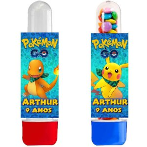Tubete personalizado Pokémon GO