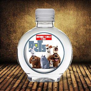 Adesivo personalizado para água Ouro A Vida Secreta dos Bichos
