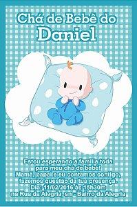 Convite digital personalizado para Chá de Bebê 056