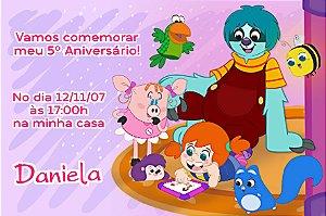 Convite digital personalizado O Diário de Mika 003