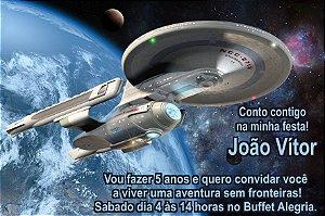 Convite digital personalizado Star Trek: Sem Fronteiras 005