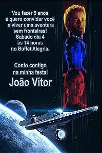 Convite digital personalizado Star Trek 009