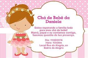 Convite digital personalizado para Chá de Bebê 059