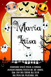 Convite digital personalizado Halloween 010