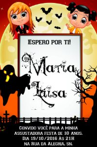 Convite digital personalizado Halloween 011