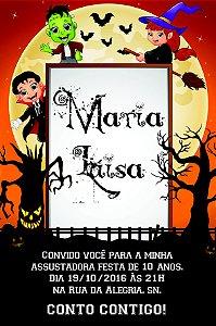 Convite digital personalizado Halloween 012