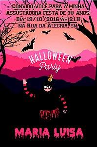 Convite digital personalizado Halloween 024
