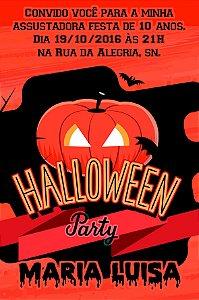 Convite digital personalizado Halloween 025