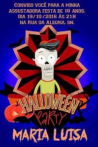 Convite digital personalizado Halloween 026