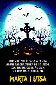 Convite digital personalizado Halloween 028