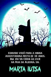 Convite digital personalizado Halloween 030