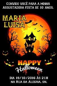 Convite digital personalizado Halloween 033