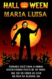 Convite digital personalizado Halloween 037